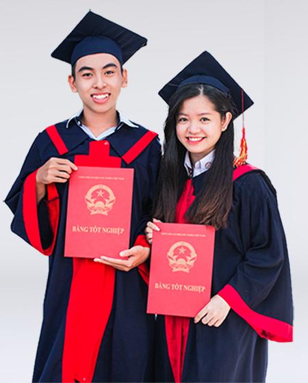 Lễ phục tốt nghiệp THPT